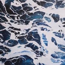 "Seafoam © Crystal Pyne 24""x 18"" Acrylic on canvas $210"