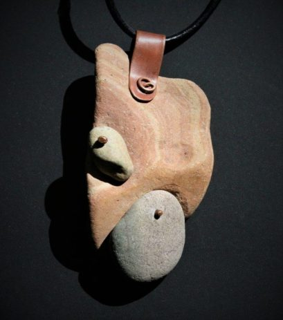 Strachan.stone necklace